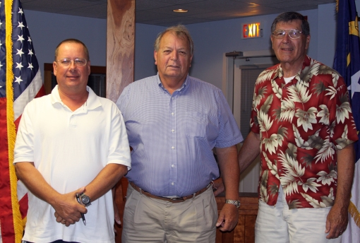 Dare GOP Ex Comm: Bryan Oroson, Treasurer; Browny Douglas, Chair; Dave Conley, Vice Chair; Jim Early (not pictured), Secretary